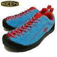 KEEN キーンジャスパー サックス ブルー/レッドJasper Saxe Blue/Red[靴・スニーカー・シューズ] 【smtb-TD】【saitama】 【RCPfashion】