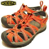 KEEN(キーン)Whisper(ウィスパー)Persimmon/Neutral Gray(パーシモン/ニュートラル グレイ) [靴?サンダル?スニーカー] 【smtb-TD】【saitama】 【R