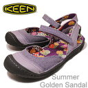 KEEN(������)Summer Golden Sandal(���ޡ�������ǥ� ������� )�ѡ��ץ륵���� [�����ѥ�ץ� ���ˡ����������塼��] ��RCP��