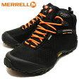 MERRELL メレルカメレオン II ストーム ミッド ゴアテックス XCR ブラックCHAMELEON II STORM MID GORE-TEX XCR BLACK[靴・ブーツ・シューズ]【RCP】