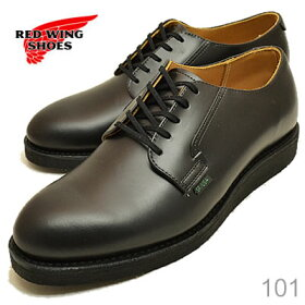 REDWING��åɥ����󥰥֡���101�ݥ��ȥޥ󥪥å����ե�����RW-101POSTMANOXFORD�֥�å�����ѥ��BLACKCHAPARRAL[����֡��ġ������ӥ����塼��MADEINUSA]��RCPfashion��