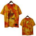 FRESH JIVE(フレッシュジャイブ)タイダイプリントTシャツ メンズ Tシャツ,デッドストック,ストリート,アメリカ製,USA,レア,希少,未使用