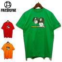 FRESH JIVE(フレッシュジャイブ)ストリート プリントTシャツ メンズ,Tシャツ,デッドストック,ブランド,レッド,オレンジ,グリーン,アメリカ,USA,レア,希少