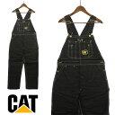 CAT CATERPILLAR(キャタピラー)ブラックダック オーバーオール メンズ,USA,アメリカ,ブランド,海外,ブラック,黒,カジュアル,デッドストック...