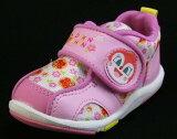 大家大迷!「dokin」的婴儿鞋【那(样)去!面包超人】APM婴儿08粉红色2E【婴儿鞋】【孩子鞋】[【それいけ!アンパンマン】APMベビー08ピンク2E【ベビー靴】【子供靴】]