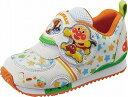 【それいけ!アンパンマン】APM-C128ホワイト2E【子供靴】【通園靴】【軽量設計】【洗えるインソール】【フレックスジョイント】