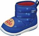 【それいけ!アンパンマン】APM-B17ブルー2E【子供靴】【ベビーブーツ】【洗えるインソール】【軽量設計】【アンパンマン】