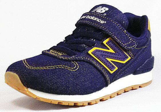 【new balance】KV996IDYインディゴ/ブルー【子供靴】【マジック】【ハーフサイズ】