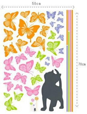蝶の花 ウォールステッカー インテリアシール ...の紹介画像3