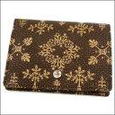 印傳屋 印伝 Folky フォルキィ 9128二つ折財布(二つ折り財布) 札入れ 財布