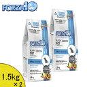 フォルツァ10 (FORZA10) パピーダイエット・ローグレインフィッシュ (アレルギー食事療法食) 1.5kg×2 「正規品」(選べるプ...