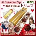 犬用 バレンタイン チョコレート 馬肉トリュフ5個入り ゴー...