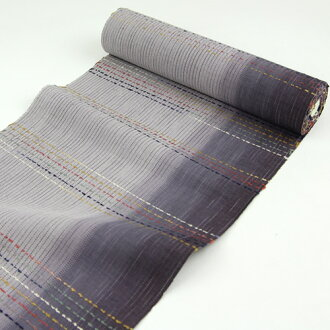 Persimmon juice dyeing ring braid splashed eight Nagoya-Obi kimono