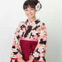 【レンタル】 十三参り 卒業式 袴 レンタル 小学生 女の子 「ジュニア卒業式袴レンタルセット」 ひな祭り 着物 衣装