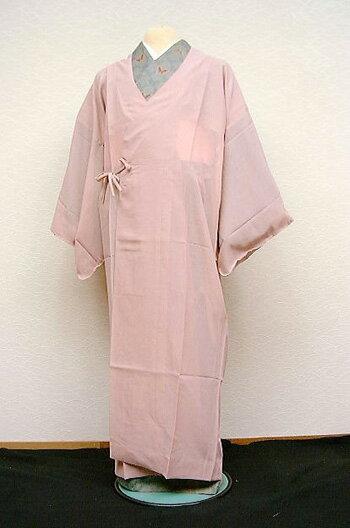"Toray sill Jerry lawn cloth coat ・"" salmon pink unlined clothes coat [zu ][]"