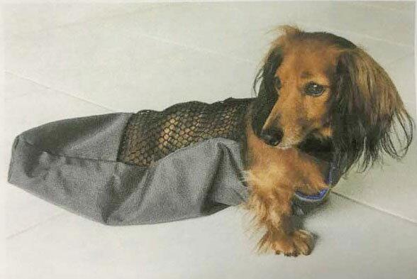 床ずれ防止ウェアXS(体重~4kg用)  ペット 介護用品 老犬 高齢犬 わんケア 【犬用介護用品】ペットグッズP06May16 痛々しい犬の床ずれの防止に