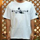 ドッグシルエット Tシャツ ホワイト シルエット シルエットプリントウェア