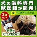 【3本セット】わんこの歯医者さん開発! Dr.YUJIRO (夜用ジェル)(※約3カ月分) 3000頭以上の犬の歯石除去(歯石取り)を行ってきた獣医師が開発。愛...
