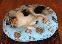 大型犬用,特大ベッド【直径130cm】ラウンドベッド中身&カバーセット(XL)【ベット 大型犬 中型犬 小型犬 クッション 可愛い トロピカル ペット 丸い】