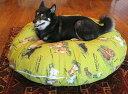 【直径110cm・Lサイズ/替えカバー】ラウンドベッド専用の替えカバー〜28kg位にお勧め【大型犬用 中型犬 ベッド フカフカ 安眠 クッション】