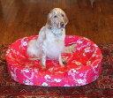 XLサイズ替えカバーオーソペディックカドラー専用日本製 アロハ柄 オリジナル柄大型犬 中型犬 老犬