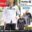 【SALE/20%OFF 】ハーレー ラッシュガード ラッシュジップオープンフード [全4色](MKHZLY50)Hurley RASH ZIP OPEN HOOD O&O メンズ【..