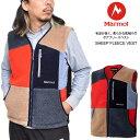 【正規取扱店】Marmot マーモット フリース メンズ シープフリースベスト SHEEP FLEECE VEST TOMQJL41 20FW 2010wannado