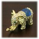 アジアン雑貨ゾウのジュエリーボックス【象】【インテリア・小物】【アクセサリー】【エナメル】