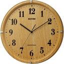送料無料 ハト・スタンダード掛け時計 電波時計 ライブリーアリス 8MY501SR07 リズム時計工業