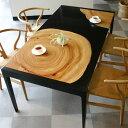 KUSUDININGtable(クスダイニングテーブル )/森の安らぎを感じる楠年輪のダイニングテーブル/