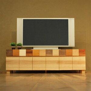 TVボード 幅150cm ホワイトオーク材 モロッコ カラフ