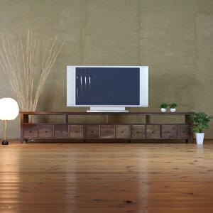 TVボード TVボード 幅240cm ウォールナット対応 ワイ