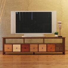 TVボード 幅156cm ウォールナット材 モロッコ カラフ