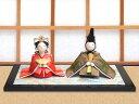 雛人形 ひな人形「和紙衣座り雛」rh286 お雛様 コンパク...