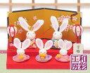 ひな人形 コンパクト リュウコドウ ミニチュア ひな祭り
