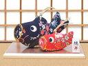 五月人形「和柄鯉のぼり親子飾り」ri276 端午の節句 リュ...