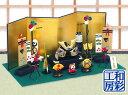 五月人形「和柄ちりめん兜 こいのぼり 端午の節句飾りセット」ri268sa リュウコドウ||室内用 ミニ 兜飾り 龍虎堂 和雑…