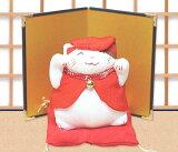 【オリジナルセット】和ぐるみ福猫「還暦祝い/金屏風付き」 リュウコドウ 和雑貨 置物