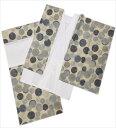 二部式襦袢 きなり地菊 S M L LL 日本製 洗える 和装 着物 下着 女性用 レディース 小さい 大きいサイズ
