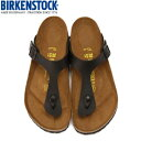 ビルケンシュトック BIRKENSTOCK ギゼ Gizeh 043691 メンズ レディース サンダル ブラック 黒 ...