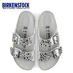 ビルケンシュトック BIRKENSTOCK アリゾナ Arizona BS レディース 1008870 幅狭 サンダル 靴 メタリックストーン シルバー 国内正規品 セール