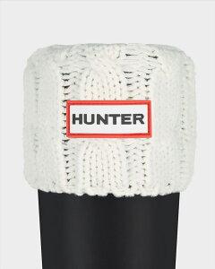 HUNTERハンターブーツ6ステッチケーブルソックスUORGTALLBS6STCHCABLEACR3036UAS3036AABトール専用NATURALWHITE(NWH)ホワイト