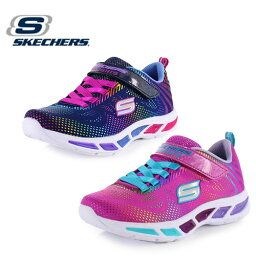 <strong>キッズ</strong> スニーカー <strong>スケッチャーズ</strong> SKECHERS Litebeams-Gleam N' Dream 10959-NVNL NPMT <strong>キッズ</strong> ライトアップ <strong>光る</strong>靴 子供靴 ガールズ ネイビー ピンク