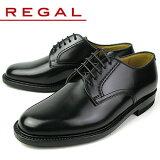 legal 鞋男式商務鞋REGAL 2504NA 黑素頭式鞋紳士鞋[リーガル シューズ メンズ ビジネスシューズ REGAL 2504NA ブラック プレーントゥ 紳士靴 ]