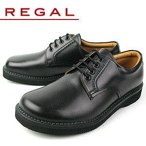 リーガル 靴 メンズ ビジネスシューズ プレーン オブリークトゥ REGAL JJ23 AG ブラック 紳士靴 送料無料 特典B