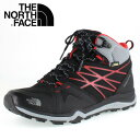 ★20%OFF★ THE NORTH FACE Hedgehog FP Lite Mid GORE-TEX NF01524 KR TNFブラック×TNFレッド メンズ トレッキング シューズ