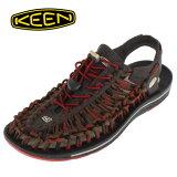 KEEN メンズ サンダル UNEEK Round Cord ユニーク ラウンドコード 1014620 RED DAHLIA/RAYA セール