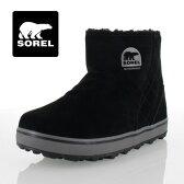 SOREL Glacy Short LL5195 010 Black ソレル グレイシーショート レディース ブーツ 防水設計