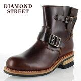 DIAMOND STREET ダイヤモンドストリート DS-48 ショートエンジニアブーツ メンズ ダークブラウン カジュアル