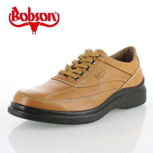 ボブソン BOBSON B5203 キャメル メンズ ウォーキングシューズ ビジネスカジュアル 本革 4E